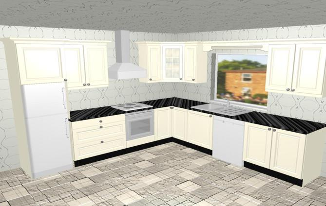 O 39 rourke kitchens for Kitchen design 4m x 2m